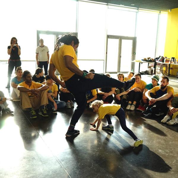 Cours de Capoeira Lille Enfants