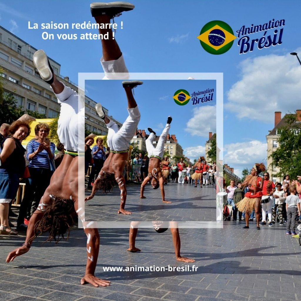 Spectacle Danse brésil Capoeira Lille