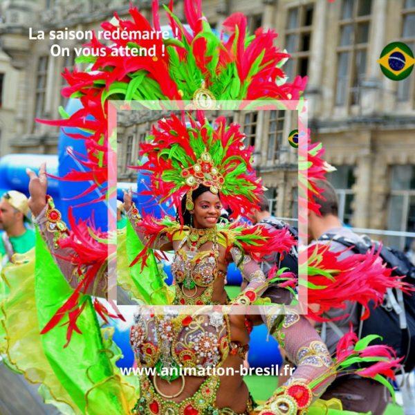 Danse Brésil Lille
